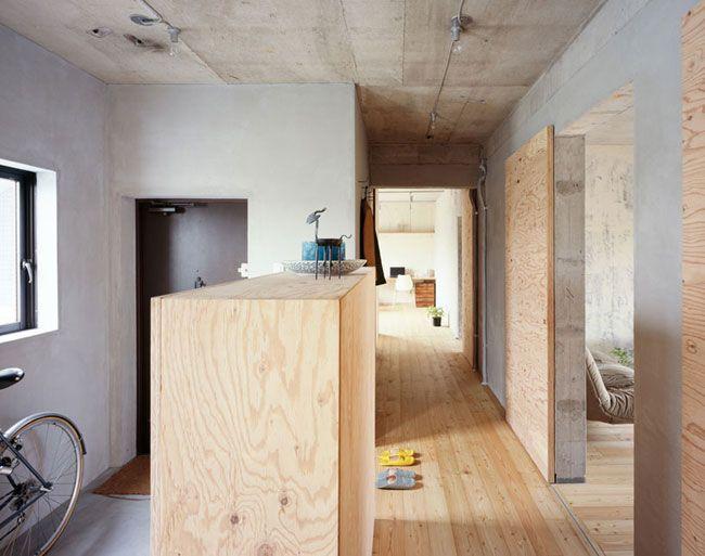 Setagaya Flat: ruwe schoonheid in Tokio   Allemaal Dingen
