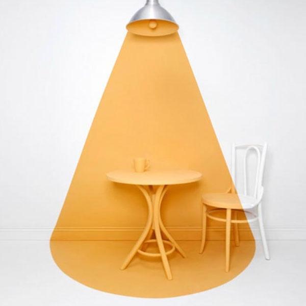 Lamp en licht - Oranje