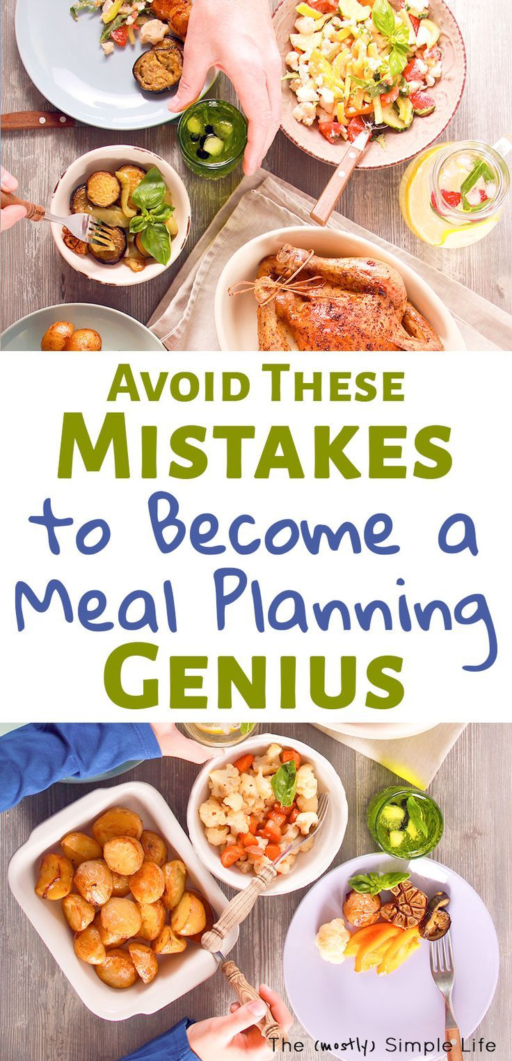 8 common meal planning mistakes to avoid | meals, taste recipe and