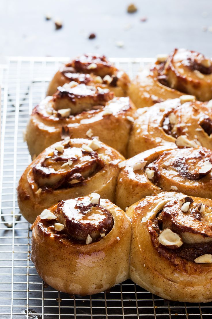sugar-free cinnamon rolls baked