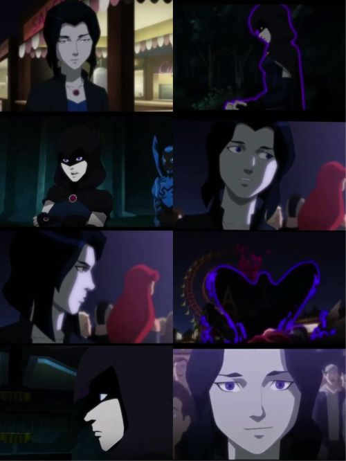 "Raven in the sneak peek for the new ""Justice League vs Teen Titans"" animated movie. HOLY SHIT THIS IS GONNA BE A THING?  oh my god. @vronboy"
