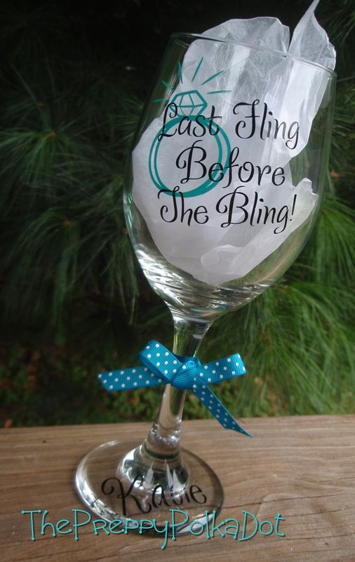 #Bachelorette #Personalized Last Fling before the BLING!
