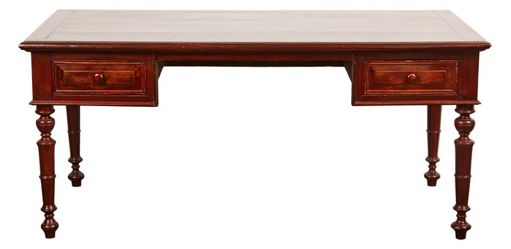 Buy 19th Century French Colonial Colonial Rosewood Des by Susanne Hollis, Inc. - Limited Edition designer Desks & Writing Tables from Dering Hall's collection of Traditional Asian Desks & Writing Tables.