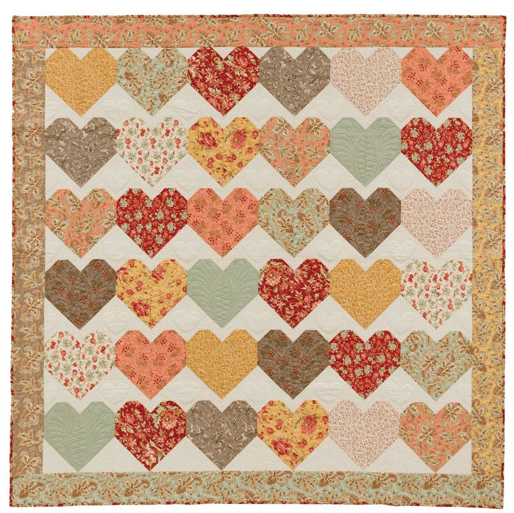 343 best Quilts - with hearts images on Pinterest Heart, Centerpieces and Crafts