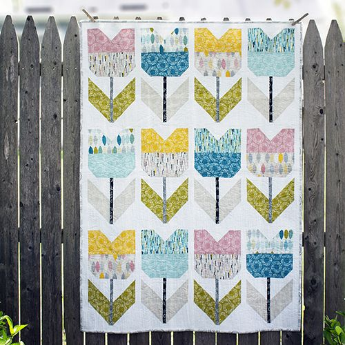 Amsterdam Quilt Quilter's Cotton from Shape of Spring by Eloise Renouf for Cloud9 Fabrics