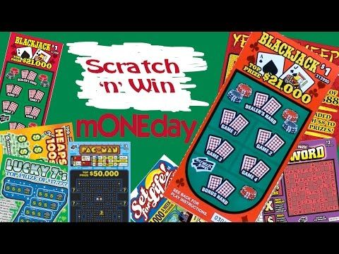 Scratch n Win mONEday Blackjack - YouTube