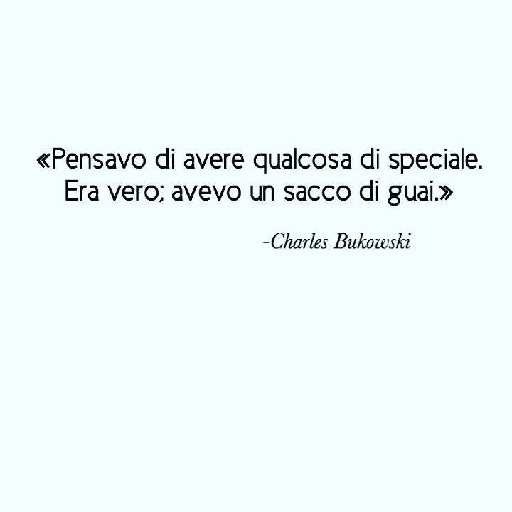 C.B. #charleshankbukowski#charlesbukowski#bukowskiquote#aforismi#frasi by sofia_ghittoni Get much more Bukowski at www.BukowskiGivesMeLife.com