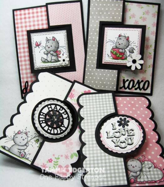 KITTY FLIP ITS by Tammie E - Cards and Paper Crafts at Splitcoaststampers