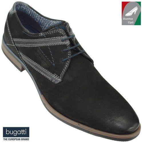 Bugatti férfi bőr cipő 312-16703-3500-1000 fekete