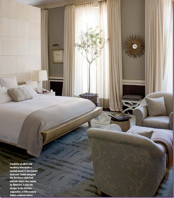 Perfect The Soft Gray Walls, Floor To Ceiling Windows And Drapes, Comfy Chairs.very  Luxe U0026 Soothing Bedroom Pictures Gallery