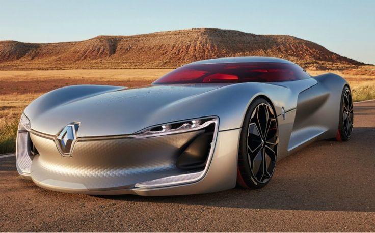 Renault TreZor : un concept-car audacieux et séduisant