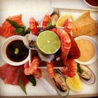 On The Inlet Restaurant Restaurant, Port Douglas chilled seafood platter guest images