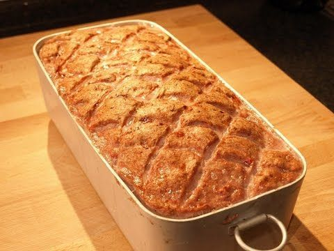 HomeMade Leberkaese Recipe • German Recipes