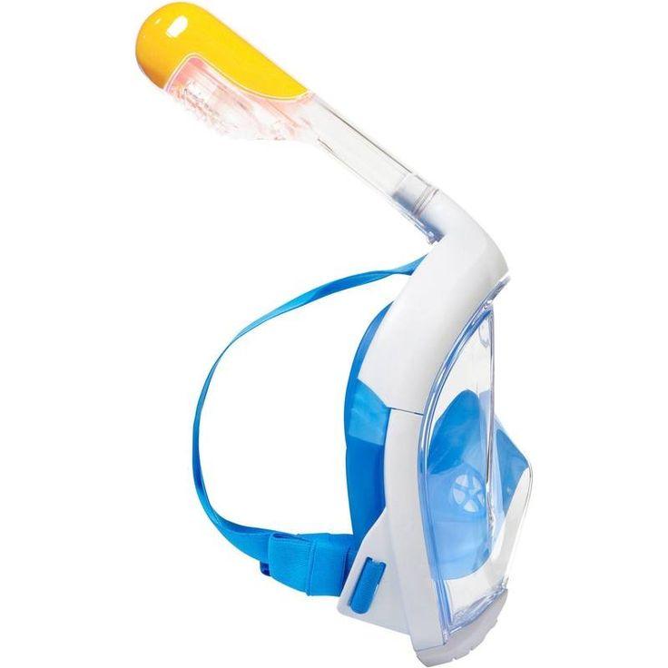 Snorkelmasker Easybreath blauw - Decathlon