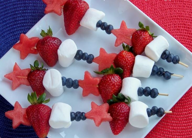 Australian Themed Fruit Skewers For The Kids And Big Alike