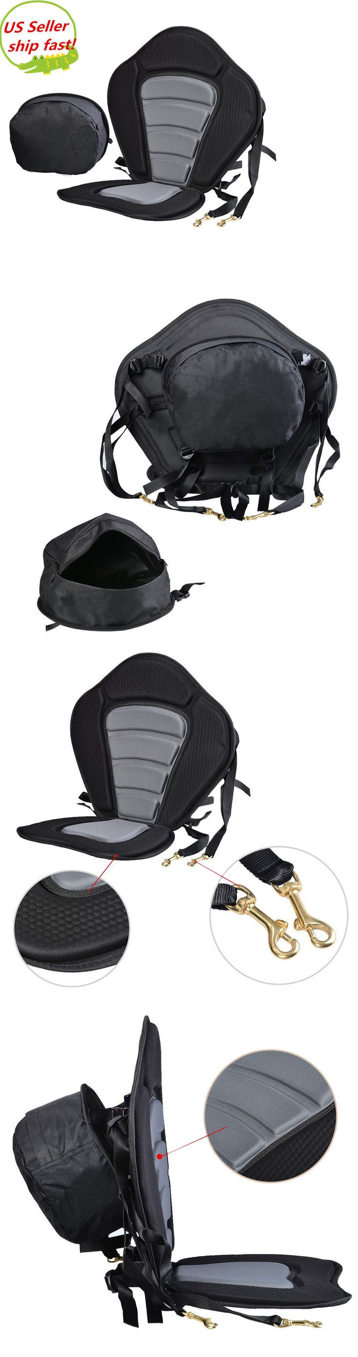 Accessories 87089: Adjustable Padded Deluxe Kayak Seat Detachable Back Backpack Bag Canoe Backrest -> BUY IT NOW ONLY: $30.32 on eBay!