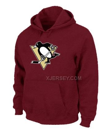 http://www.xjersey.com/nhl-pittsburgh-penguins-big-tall-logo-pullover-hoodie-red.html Only$50.00 NHL PITTSBURGH PENGUINS BIG & TALL LOGO PULLOVER HOODIE RED #Free #Shipping!