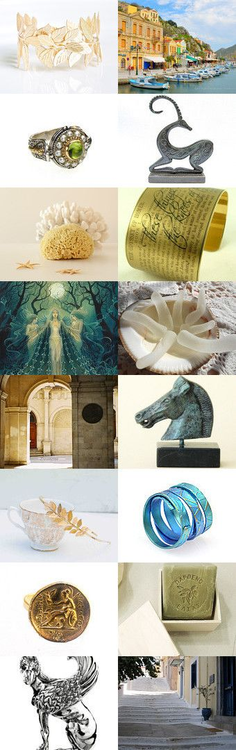 Grecian by Viktoria Schuster on Etsy--Pinned with TreasuryPin.com  Είμαι από την Ελλάδα  / I am from Greece /