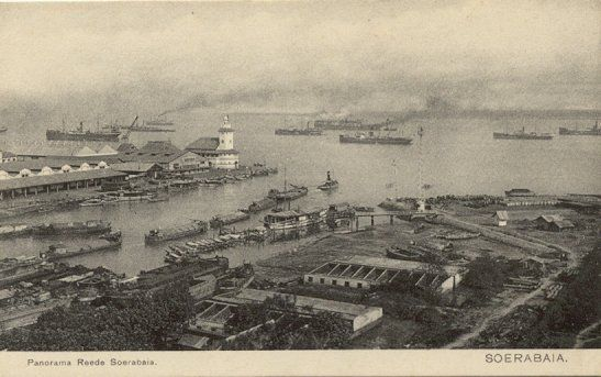 Panorama Reede Soerabaia 1920-1940.