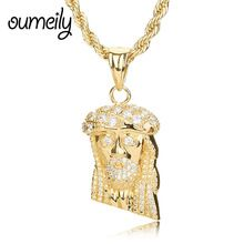 FREE Shipping Worldwide|    Amazing arrival OUMEILY Gold Color Jesus Piece Necklaces Pendant Chain Trendy New Men Jewelry Jesus Women Figure Necklace Jewellery Accessories now you can purchase $US $9.50 with free delivery  you can purchase this specific product not to mention a lot more at our favorite on-line store      Grab it now in the following…