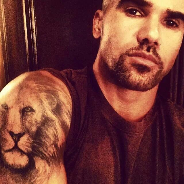 106 best images about sfm shemar on pinterest lion for Shemar moore tattoos