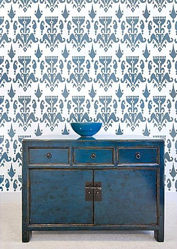 ikat stencil fab color choice for your own DIY project!!!!!!
