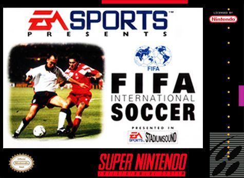 Image result for fifa international soccer snes