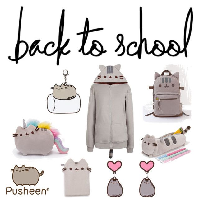 """""""#PVxPusheen"""" by sae-gaming ❤ liked on Polyvore featuring Pusheen, contestentry and PVxPusheen"""