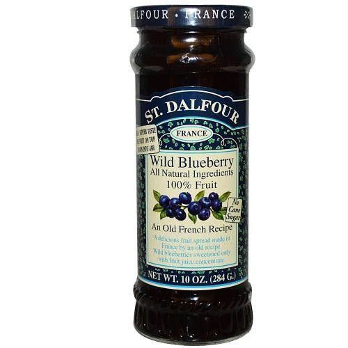 St. Dalfour Blueberry 100% Fruit Conserve (6x10 Oz)