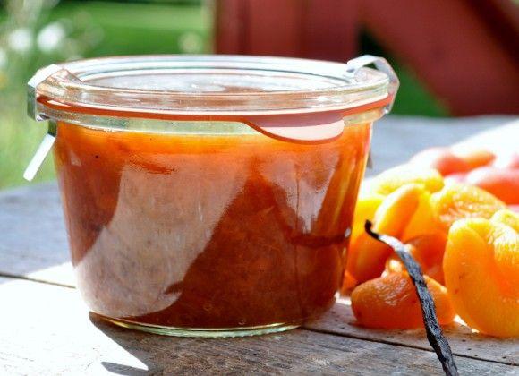 Mirabellemarmelade med citron, abrikoser og vanille