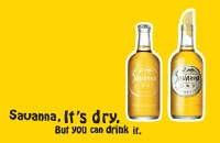 Savanna Dry Cider made in South Africa