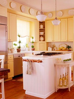 155 best yellow aqua gray colors images on pinterest for Cute yellow kitchen ideas