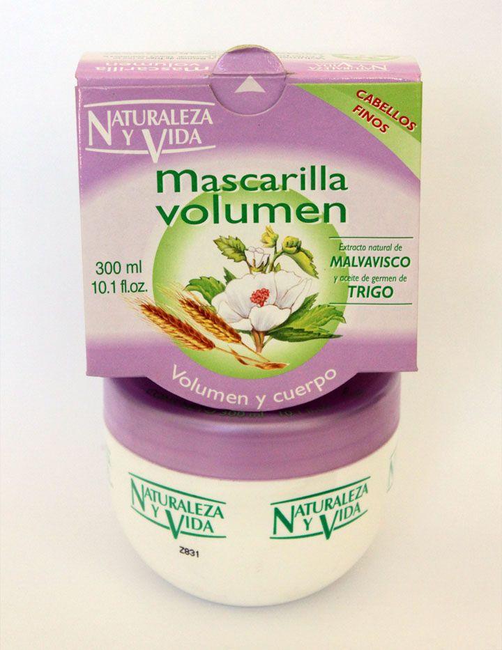 Mascarilla Volumen De Malvavisco y Trigo