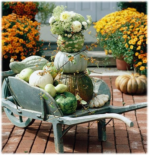 use these pretty fall decorating ideas to add pizzazz to your porch this autumn whether its a gourd wreath or full porch display youre sure to find