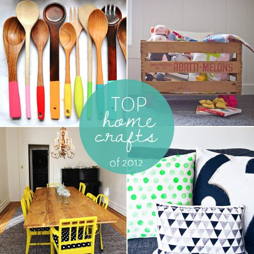 Easy Home Decorating Projects: Top 10 Home Crafts Of 2012