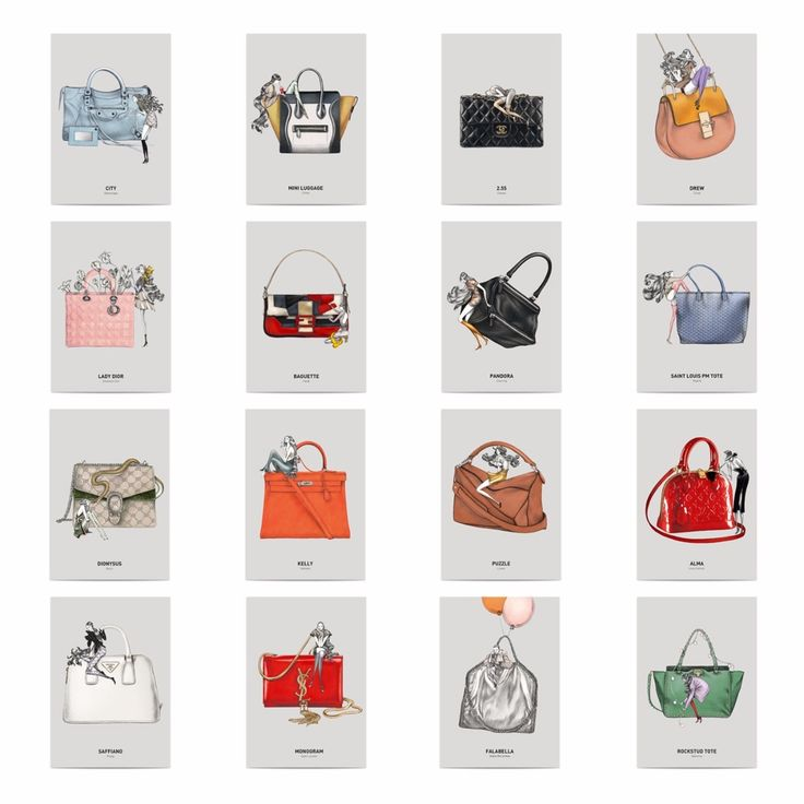 Laura Laine on her 'Iconic Bags Postcard Book' http://wu.to/hgGg8Z