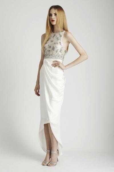 Rachel gilbert blair dress white uniform