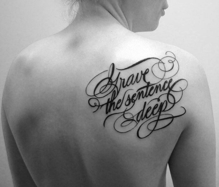 Matt Matik | Lettering Tattoo