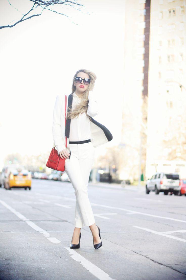 Glamgerous - Fashion Blogger: White On White