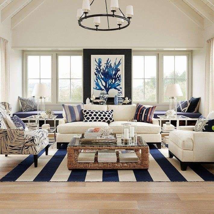 Tessuti Per L Arredamento Di Una Casa Al Mare Interior Design Di