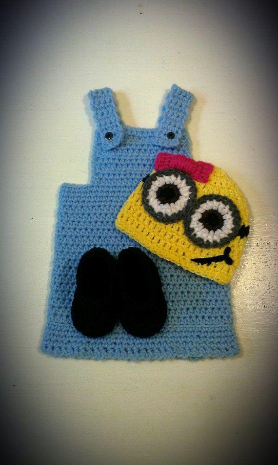 81 best minions, crochet or not images on Pinterest | Minion crochet ...