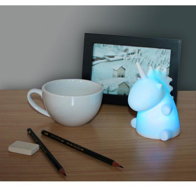 einhorn led lampe unicorn moodlight. Black Bedroom Furniture Sets. Home Design Ideas