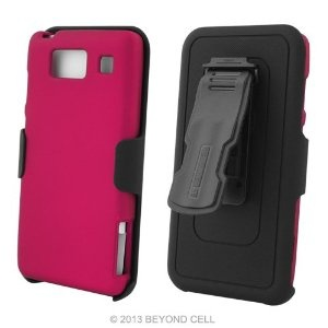 3 in 1 Combo Set Protector Case, Holster Belt Clip  Screen Guard for Motorola Droid Razr MAXX HD (XT926) - Magenta by Beyond Cell. $14.10. Note: Holster will not fit for phone with extended battery.