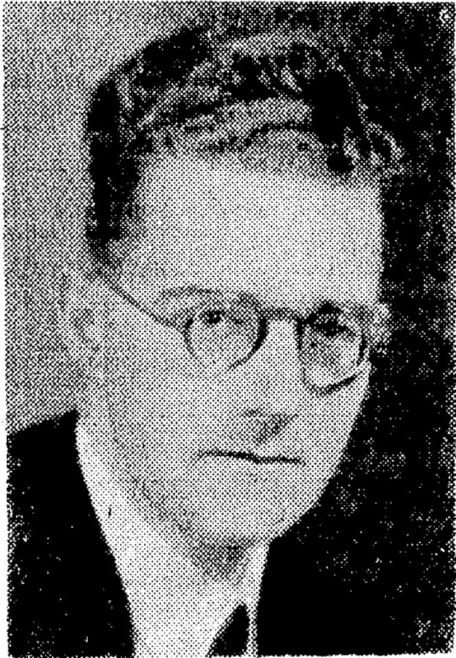 Mr. John Randal, ivho has been appointed organist of St. Peter's, Willis Street. He is at present occupying a similar post at St. James's Presbyterian Church, Newtown. He is also operator of the War Memorial Carillon. (Evening Post, 28 April 1944)