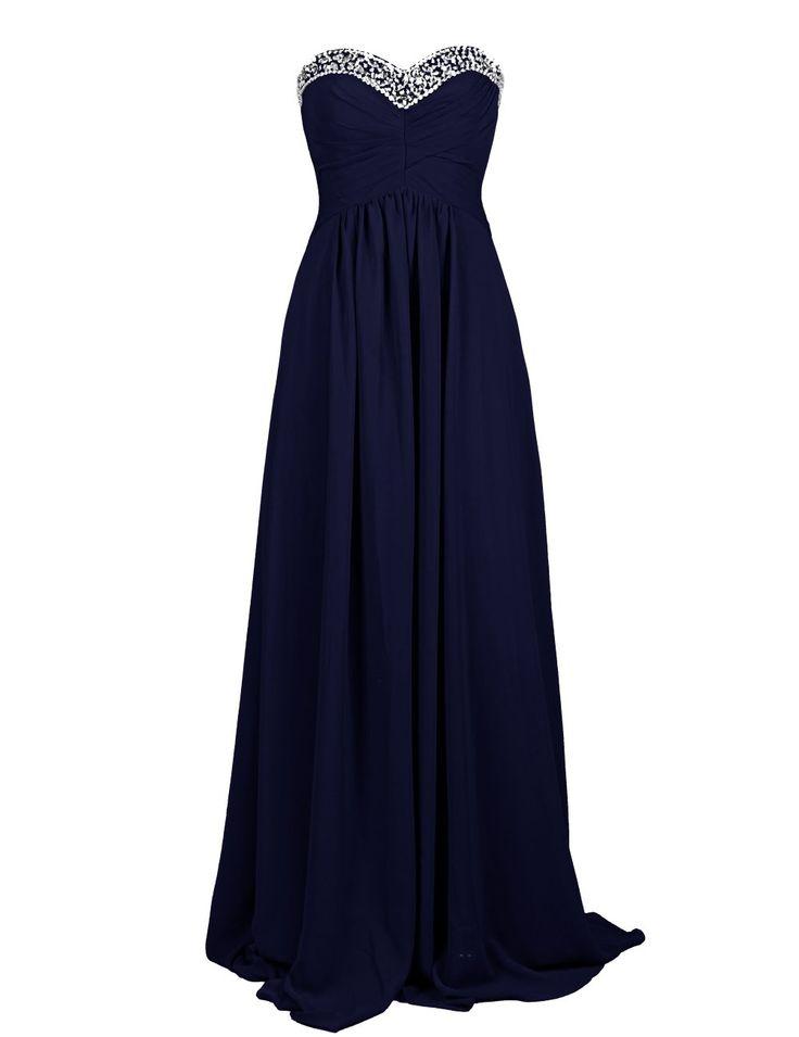 Dresstells Damen Ballkleid Chiffon Bodenlang Abendkleider mit Schnürung DT90463: Amazon.de: Bekleidung