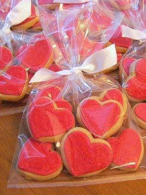 Bake at 350: Valentine cookies with va-va-va-vanilla