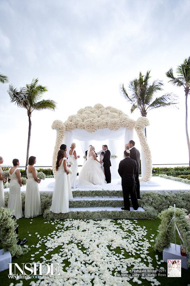 outdoor wedding ceremony decor casablanca bridal 2015 beautiful and wedding 6319