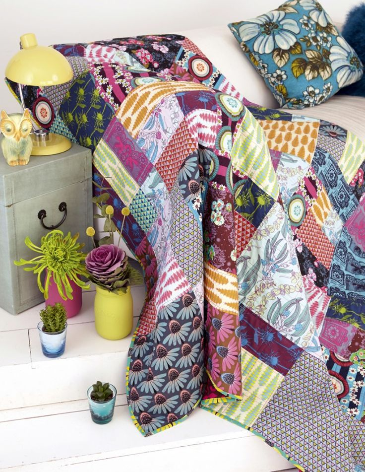 84 besten Quilts I ❤ Bilder auf Pinterest | Flickendecke, Quilt ...