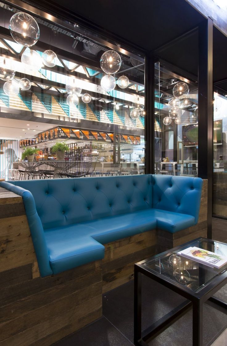 studio equator has designed bluetrain restaurant located in melbourne australia - Blue Restaurant Ideas