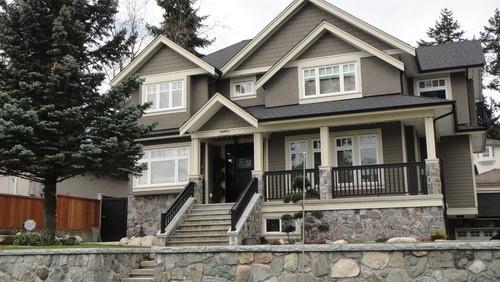 37 best home exteriors images on pinterest exterior - Most popular grey exterior paint ...